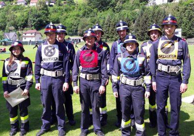 Bereichsfeuerwehr Leistungsbewerb In Kapfenberg Diemlach Feuerwehr